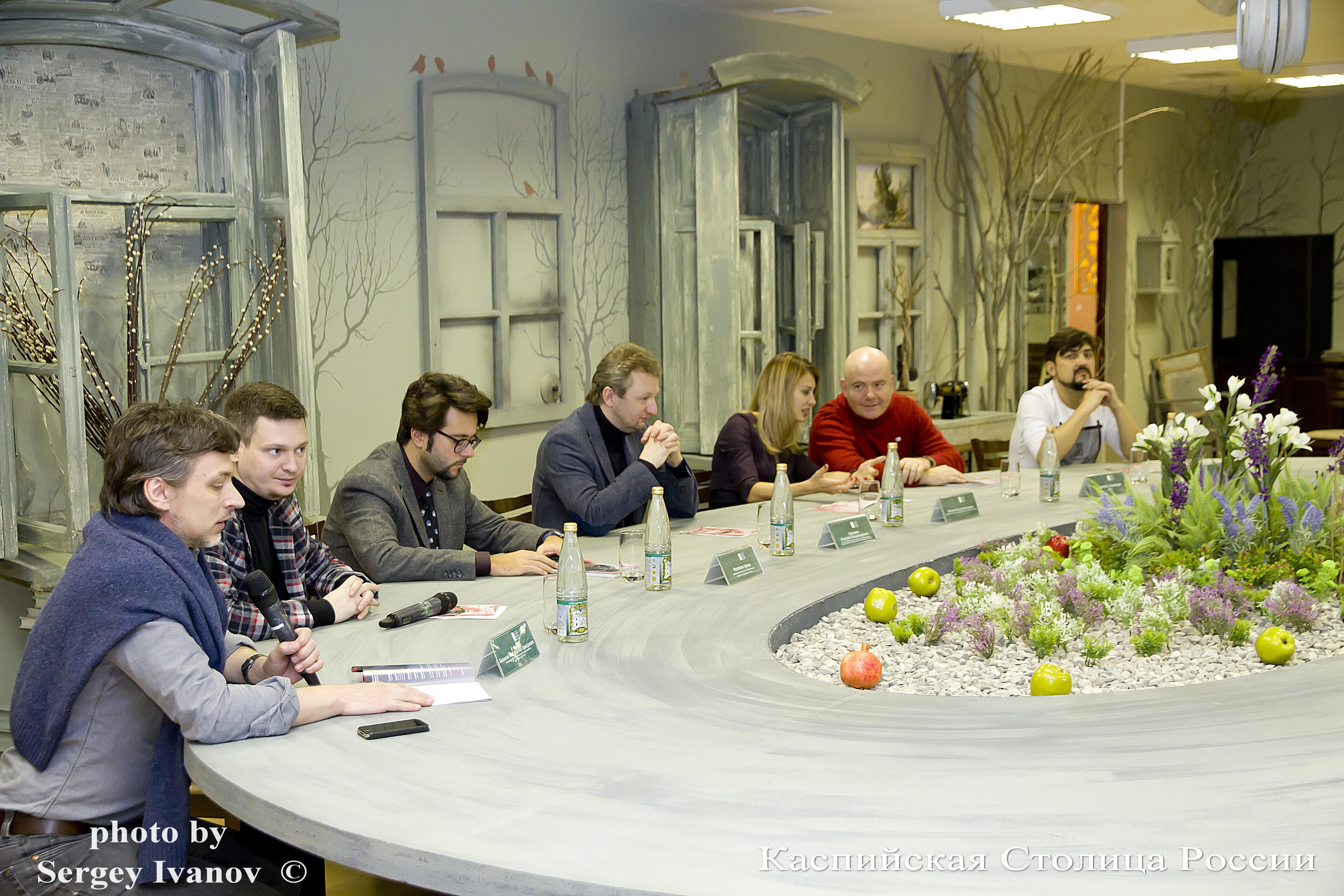Итальянские музыканты пообщались с региональными журналистами