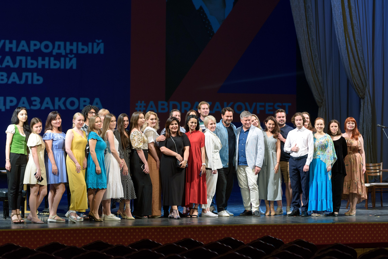 Мастер-класс звезд оперы прошёл в Астраханском театре оперы и балета