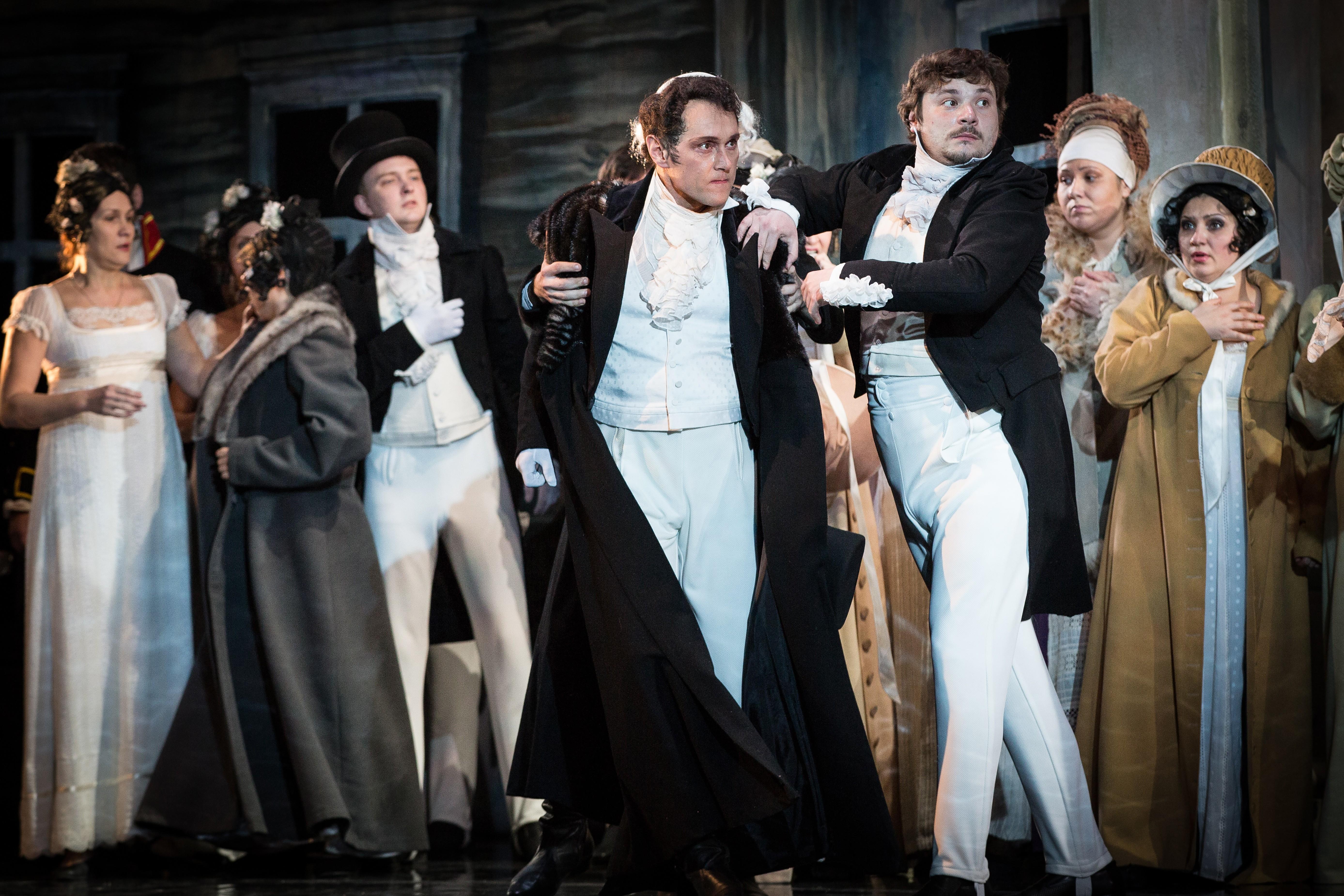 25 января, в Татьянин день, в Астраханском театре Оперы и Балета - «Евгений Онегин»
