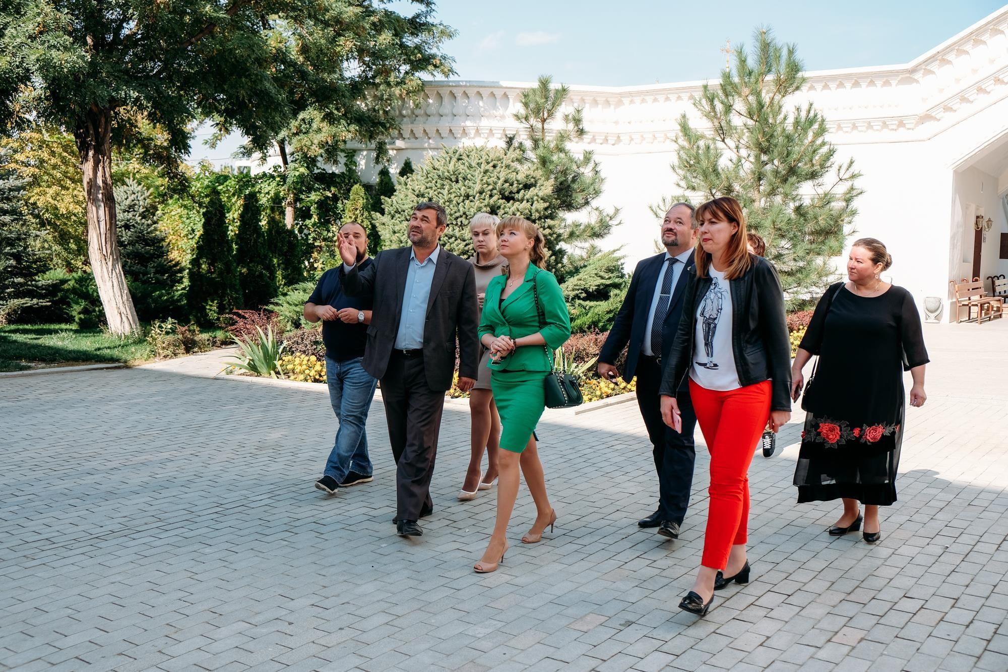 Рабочая встреча: развивается  культурное сотрудничество между Астраханью и Краснодаром