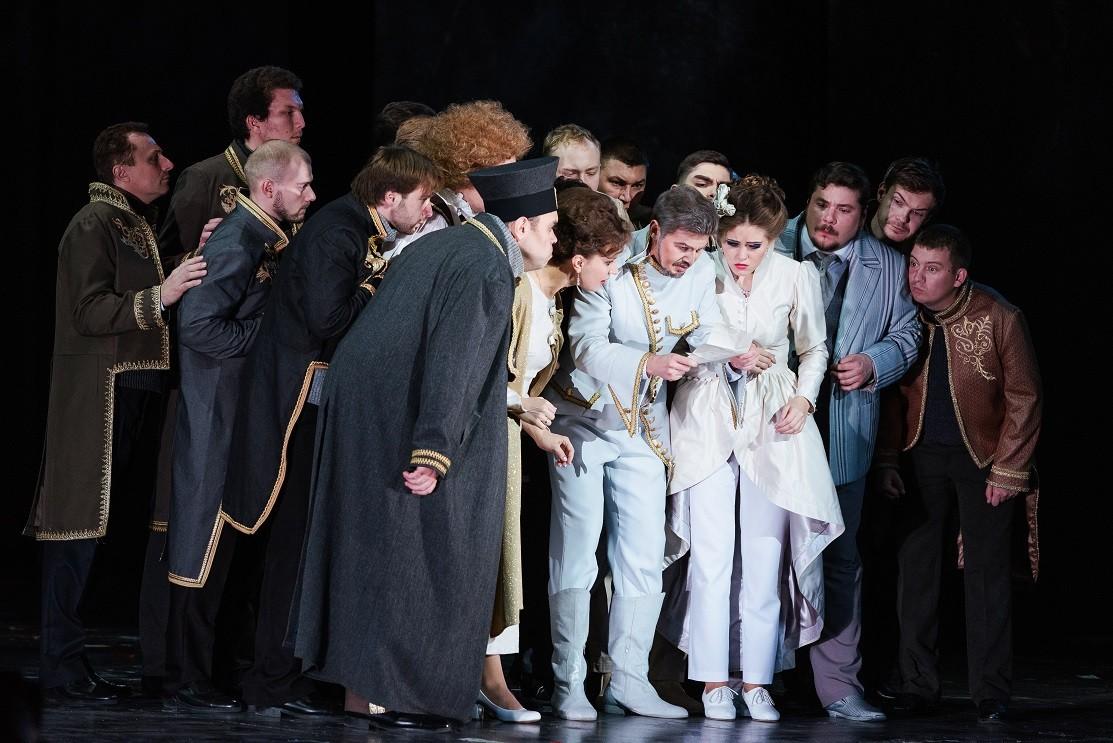 Оперная труппа Астраханского театра Оперы и Балета  отправилась в Москву на фестиваль «Видеть музыку»