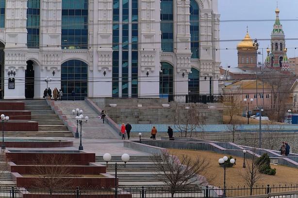 Парк «Театральный» переходит на зимний период работы