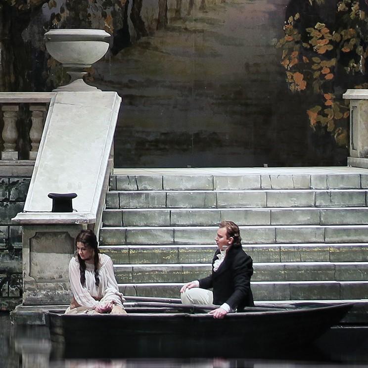27 октября опера П. Чайковского «Евгений Онегин» на сцене Большого зала