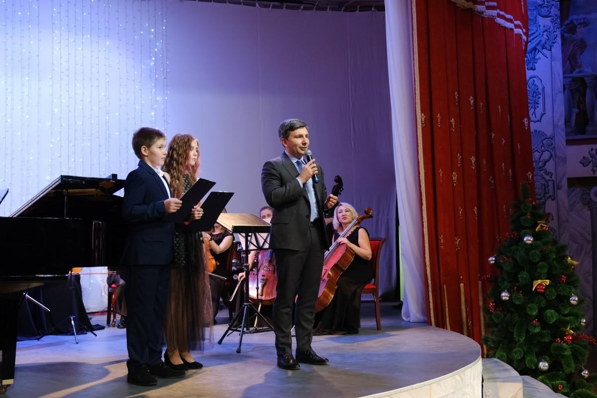 Отчётный концерт одарённых детей