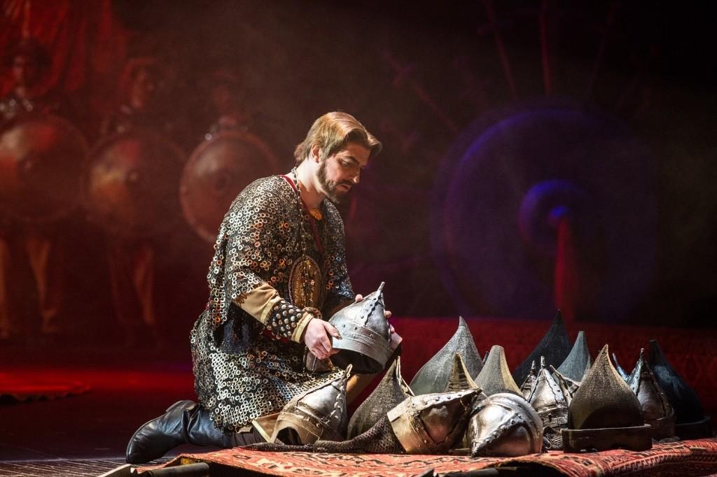 Эпическая опера «Князь Игорь» на сцене  Большого зала