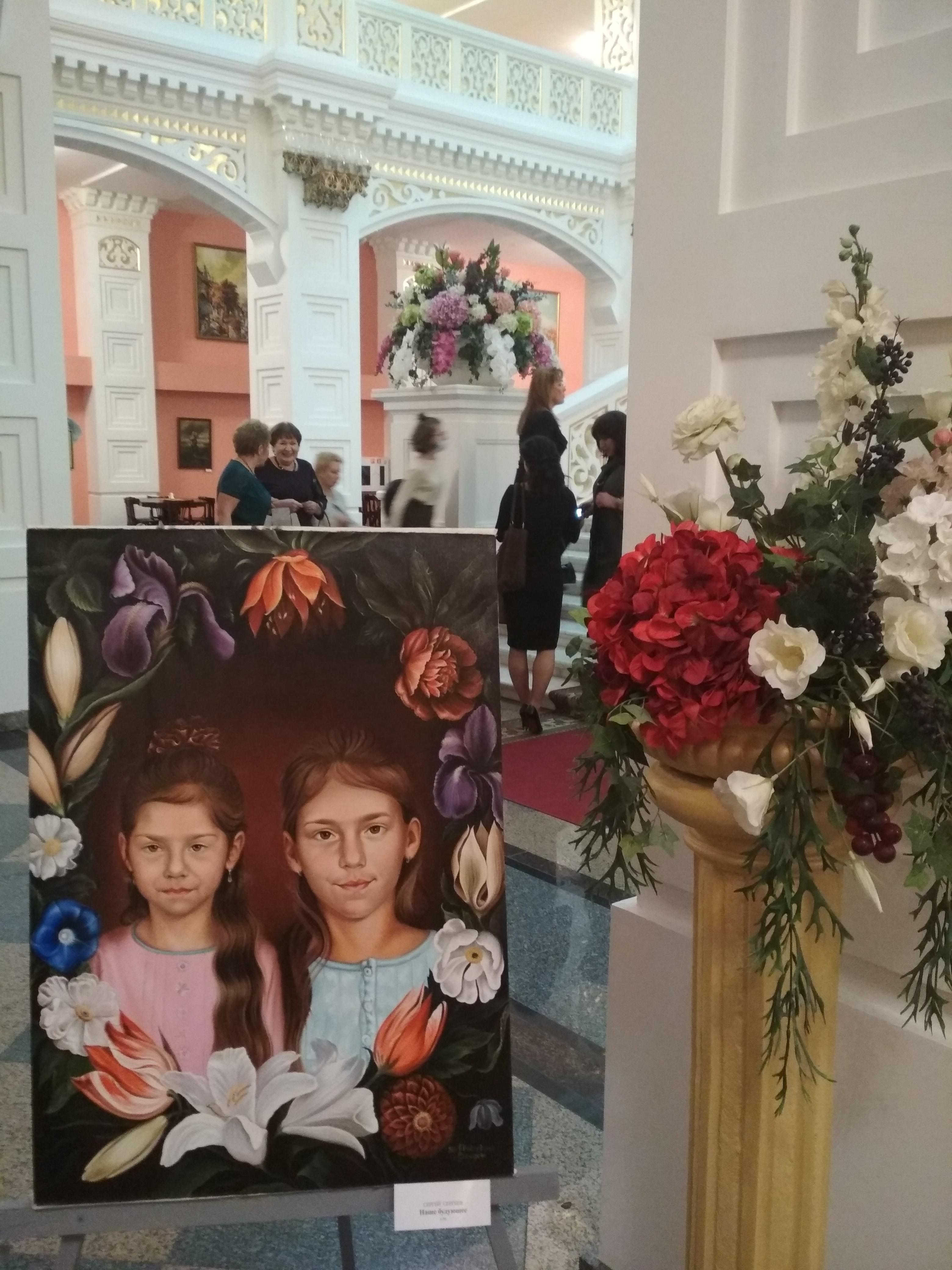 Художники  Василий Сергеев и Сергей Сергеев  приглашают на  выставку картин