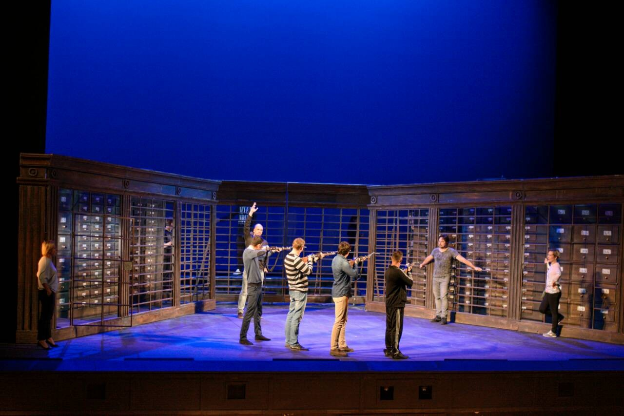 Репетиция на Новой сцене Большого театра началась