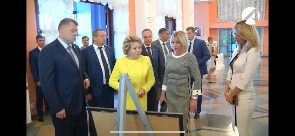 Валентина Матвиенко посетила Астраханский театр оперы и балета