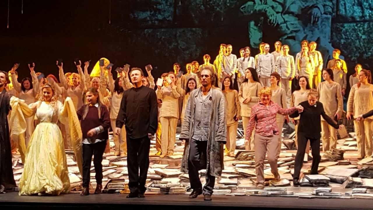 Наши артисты с успехом выступили на Новой сцене Большого театра!
