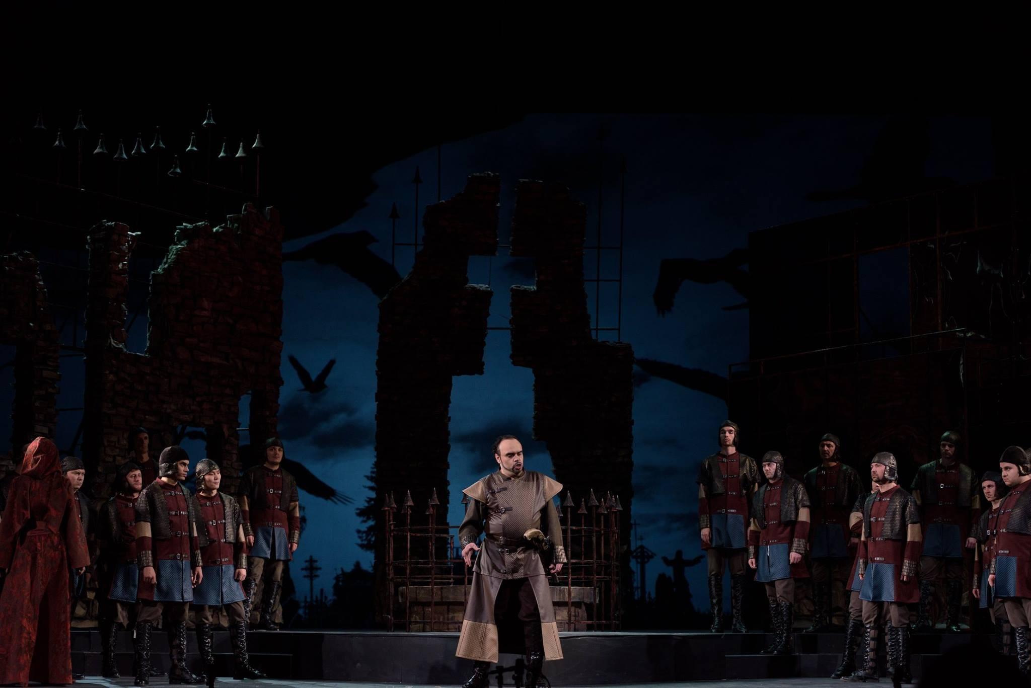 Премьера! 2 декабря на сцене Большого зала  опера «Трубадур» Дж. Верди