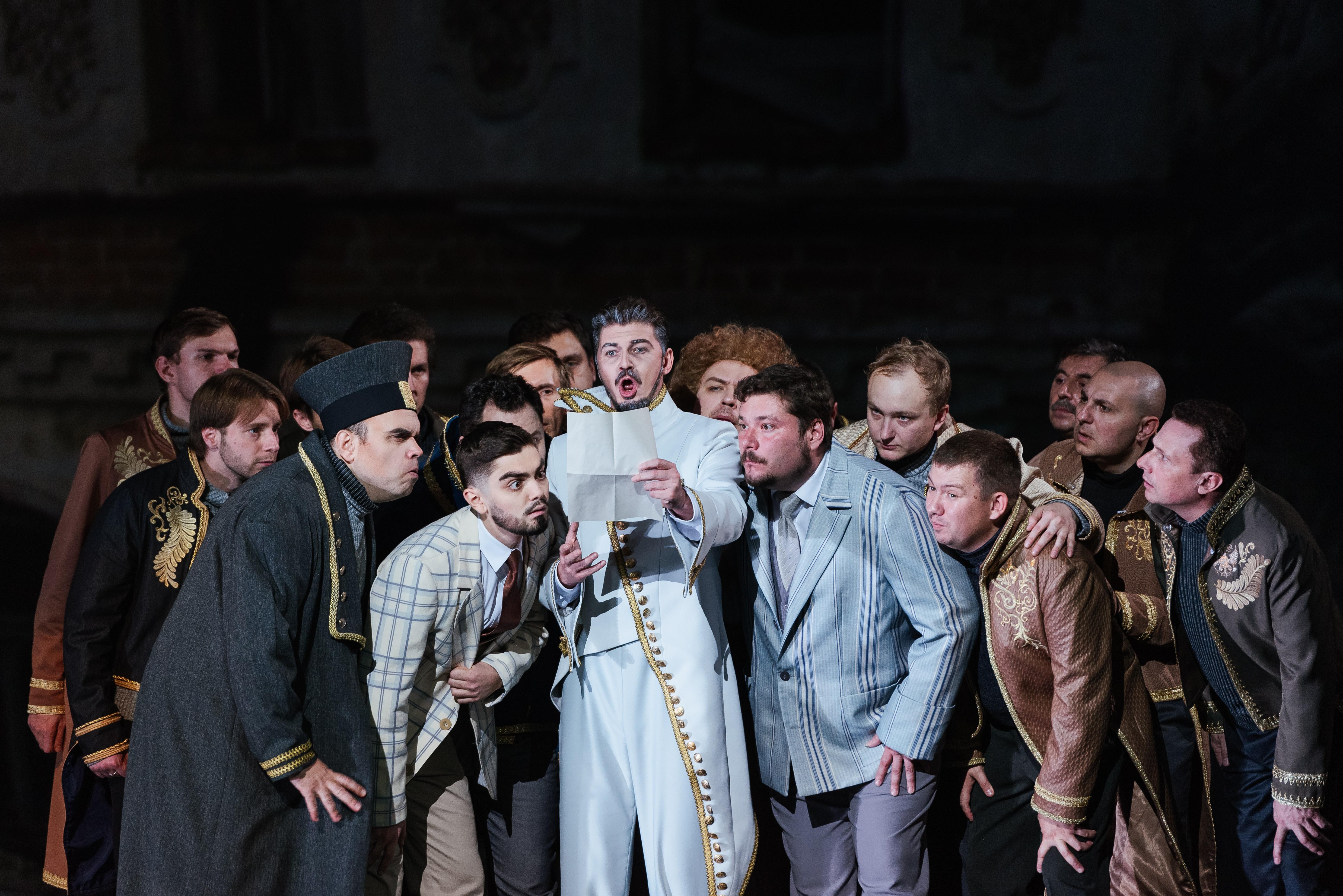 Премьера оперы «Ревизор»
