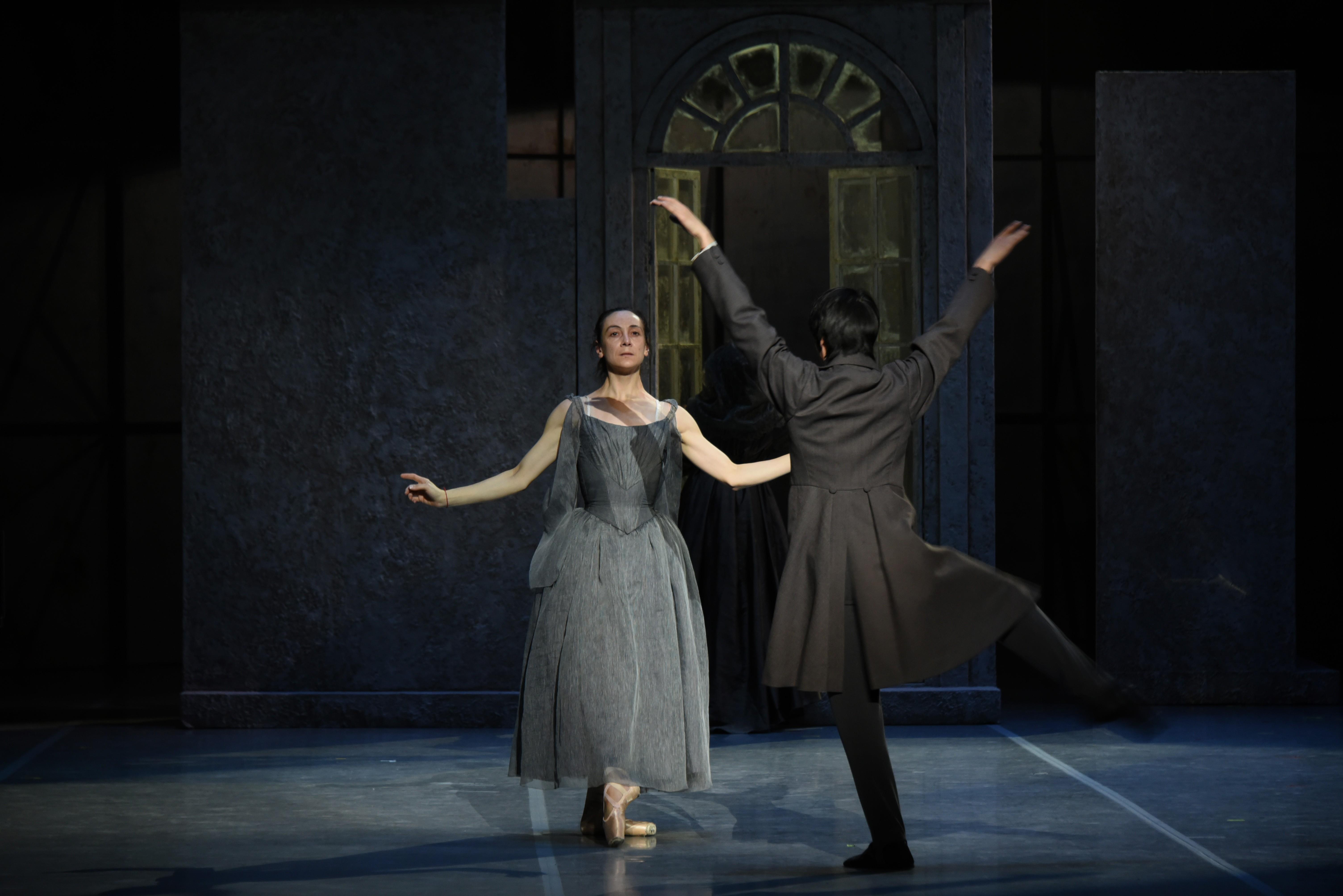 «ЗОЛОТАЯ МУЗЫКА ШОПЕНА...»  в авторском балете LE PARI