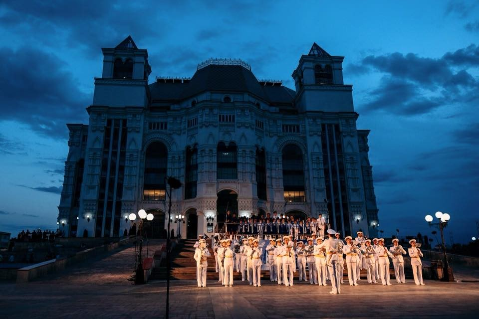 Фестиваль «Фанфары Каспия» завершён
