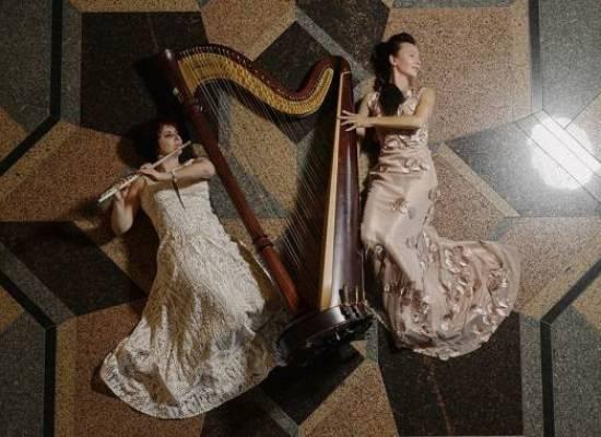 Флейта и арфа: красота и нежность