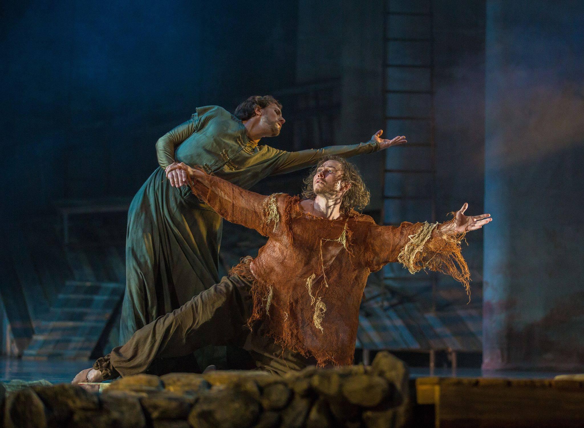 25 апреля авторский балет «Андрей Рублев»  на сцене Астраханского театра Оперы и Балета