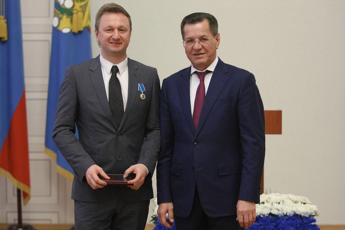 Губернатор поздравил заслуженных астраханцев по итогам года