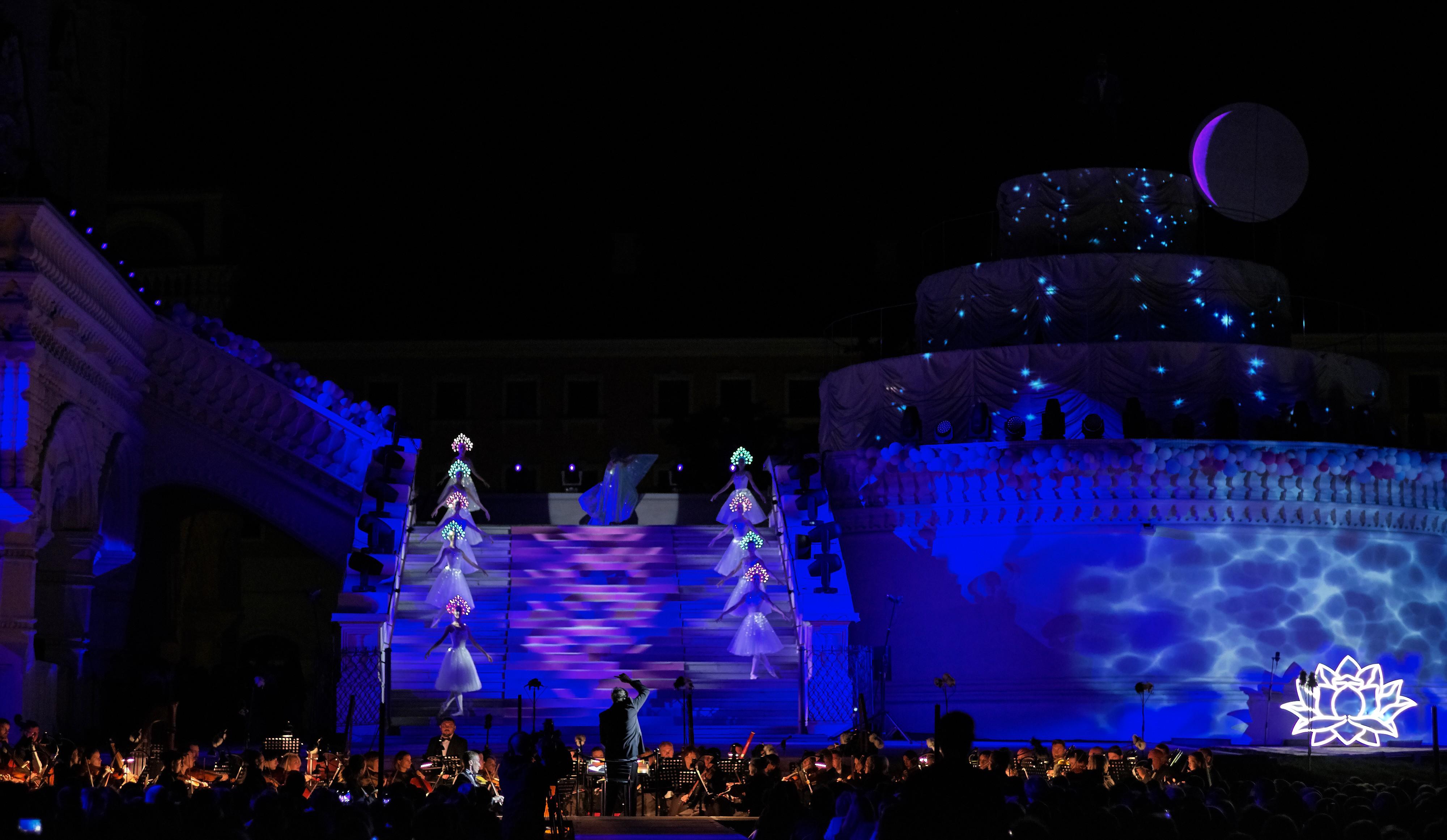 Второй день премьеры оперы М. Глинки «Руслан и Людмила» в исторических декорациях Астраханского Кремля