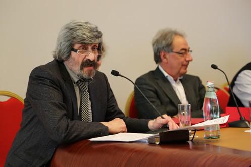 Валерий Воронин принимает участие в собрании Профессиональной Гильдии театральных менеджеров
