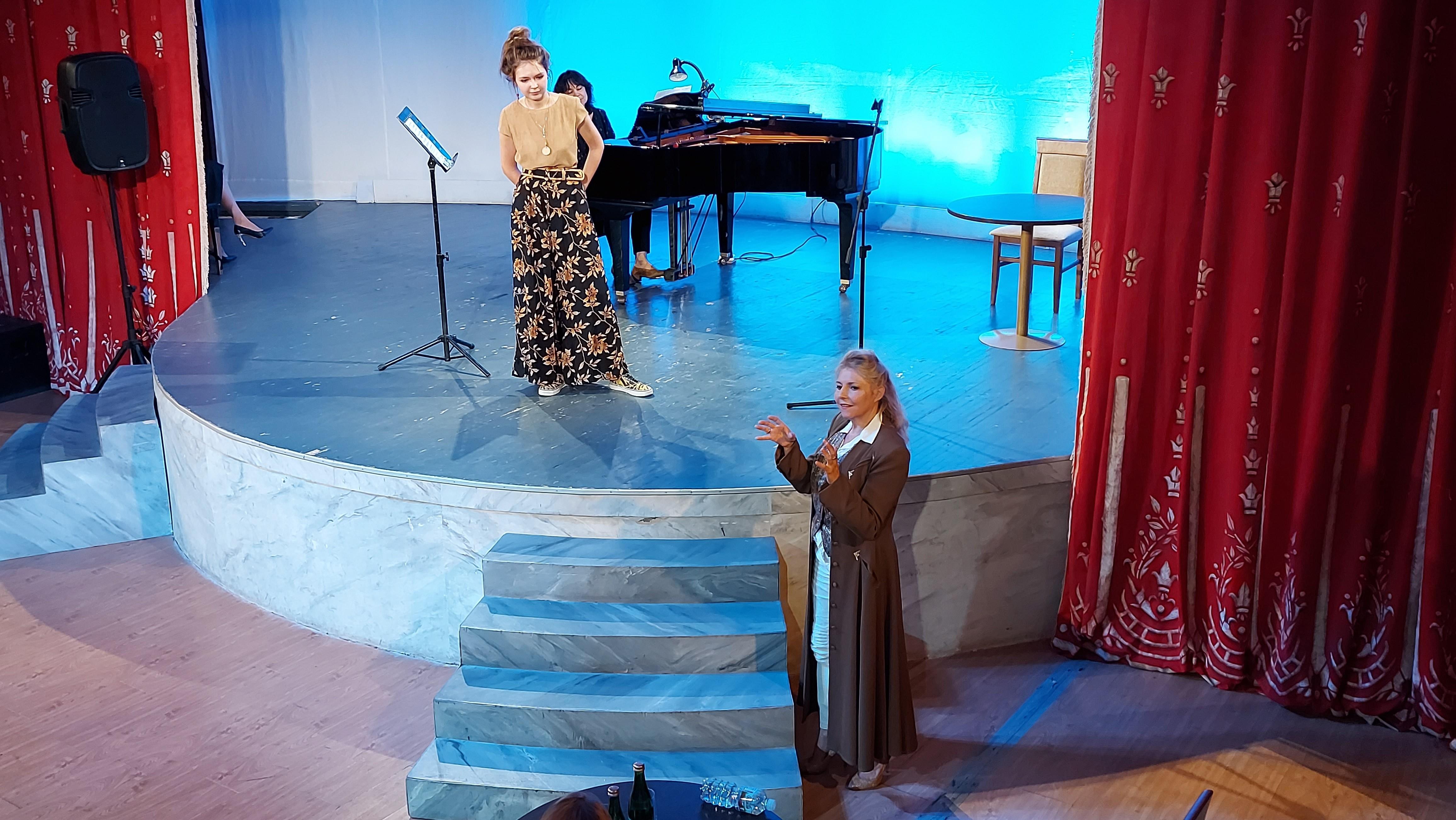 Звезды оперы делятся опытом