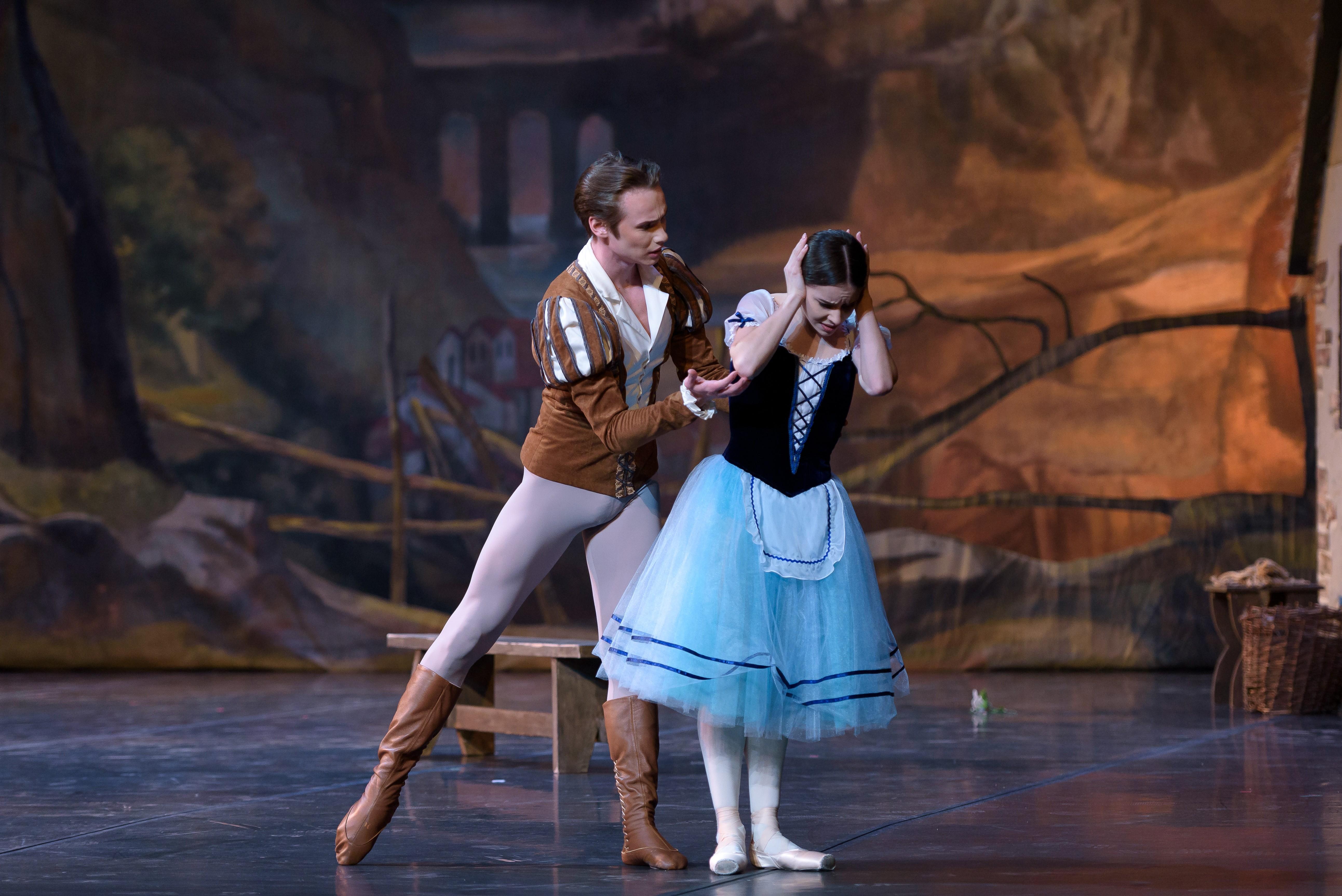 Чувственный балет «Жизель»