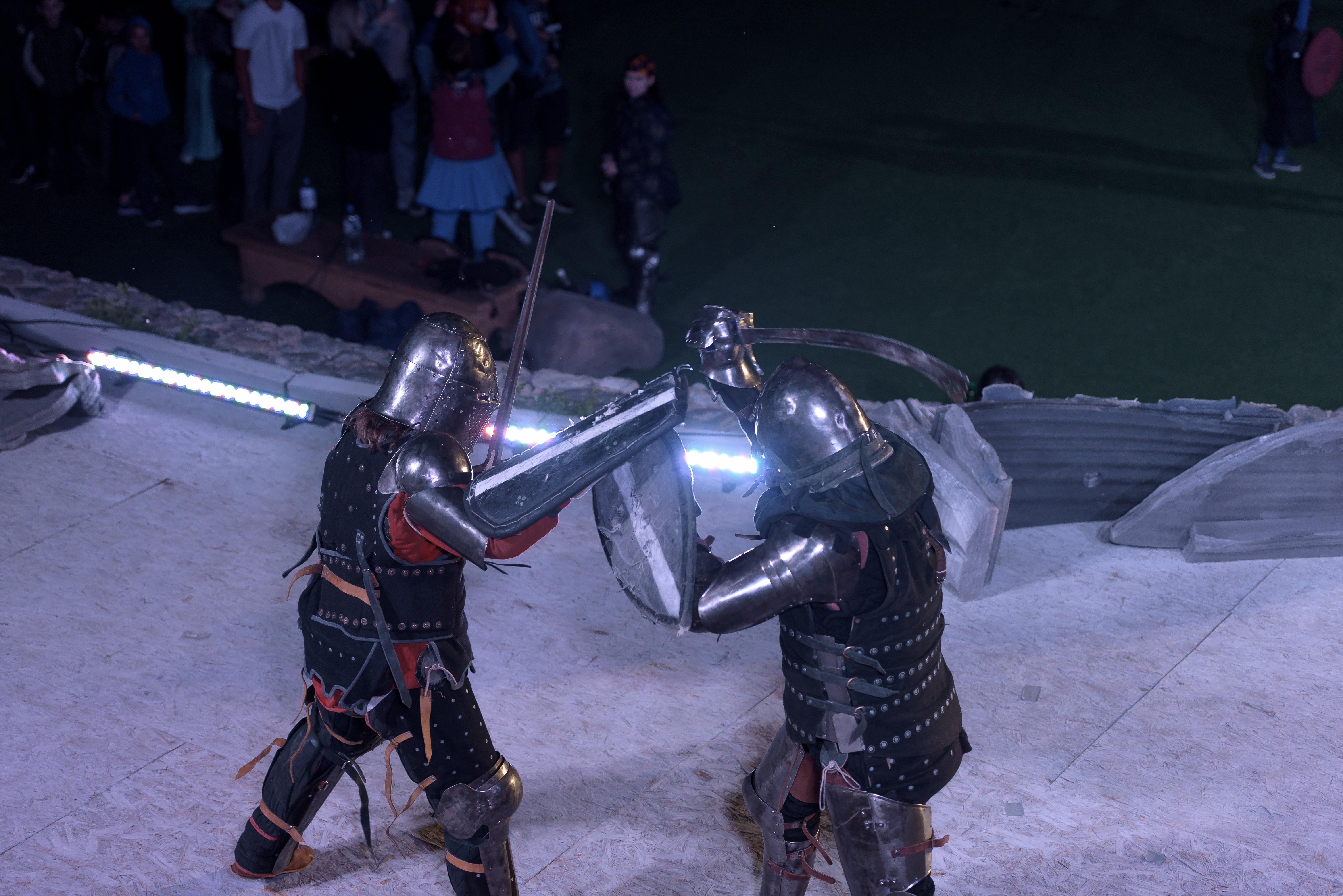 В парке «Театральный» состоялась реконструкция Невской битвы