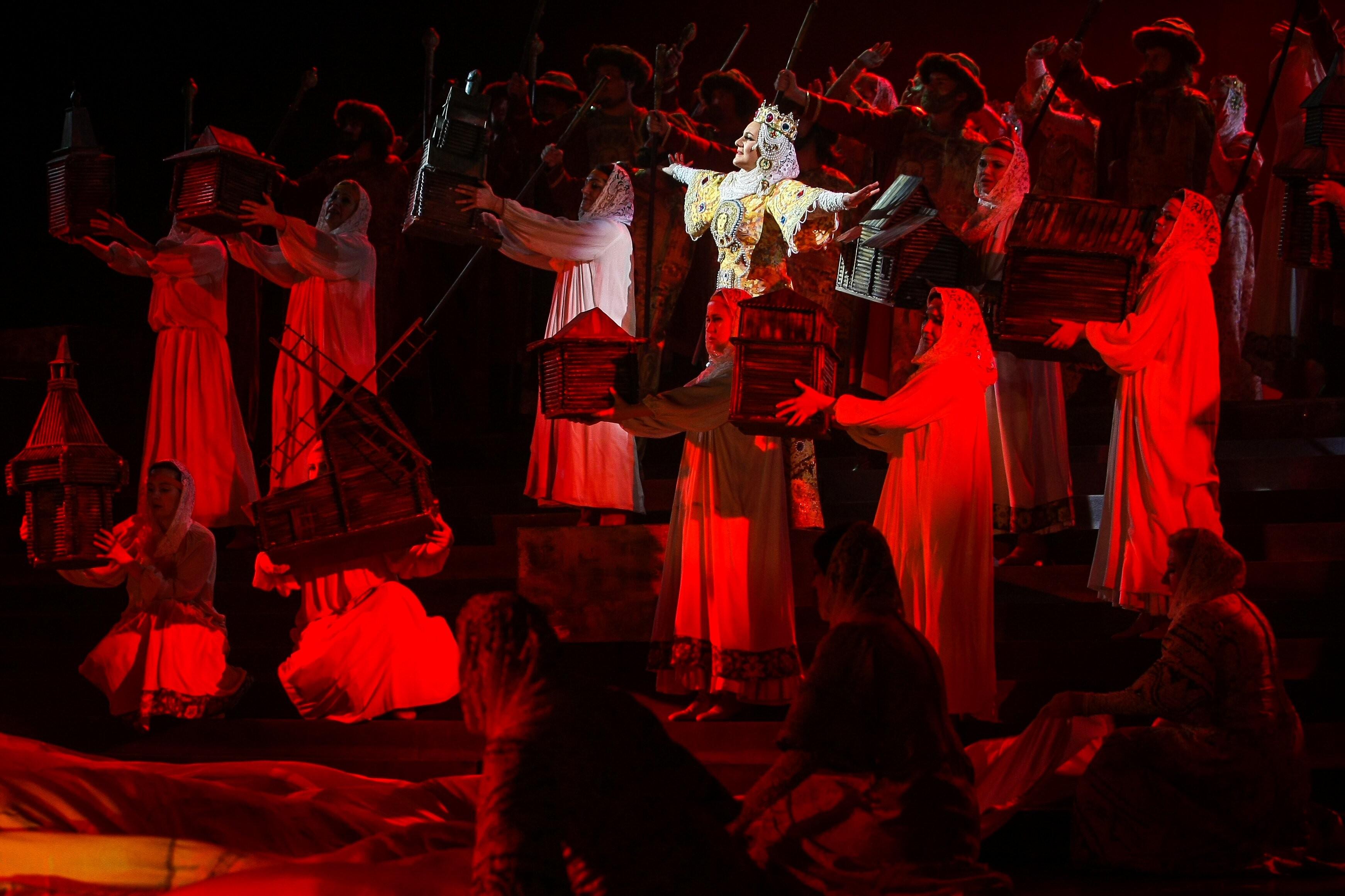 Легендарная кремлёвская опера «Князь Игорь» на сцене  Большого зала