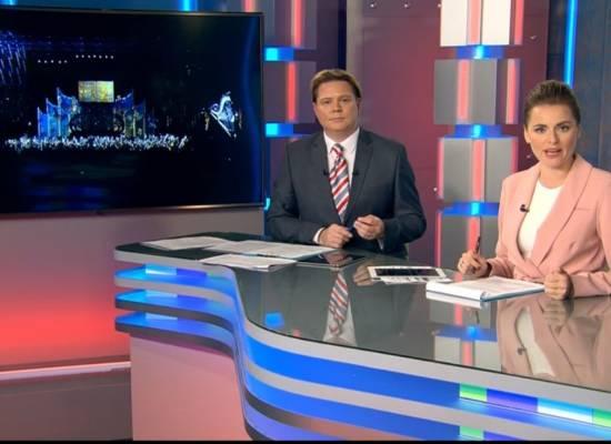 Репортаж на телеканале «Санкт-Петербург»