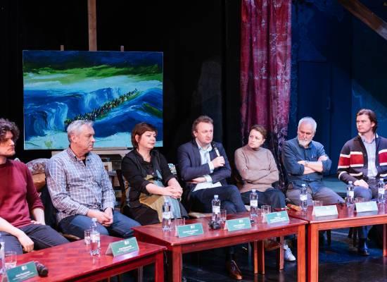 Открытая репетиция оперы «Богема» для СМИ