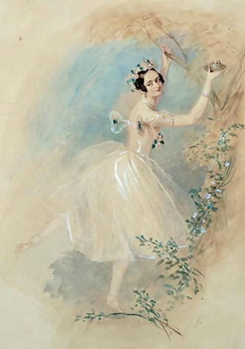 Премьера балета А. Адана «Жизель»