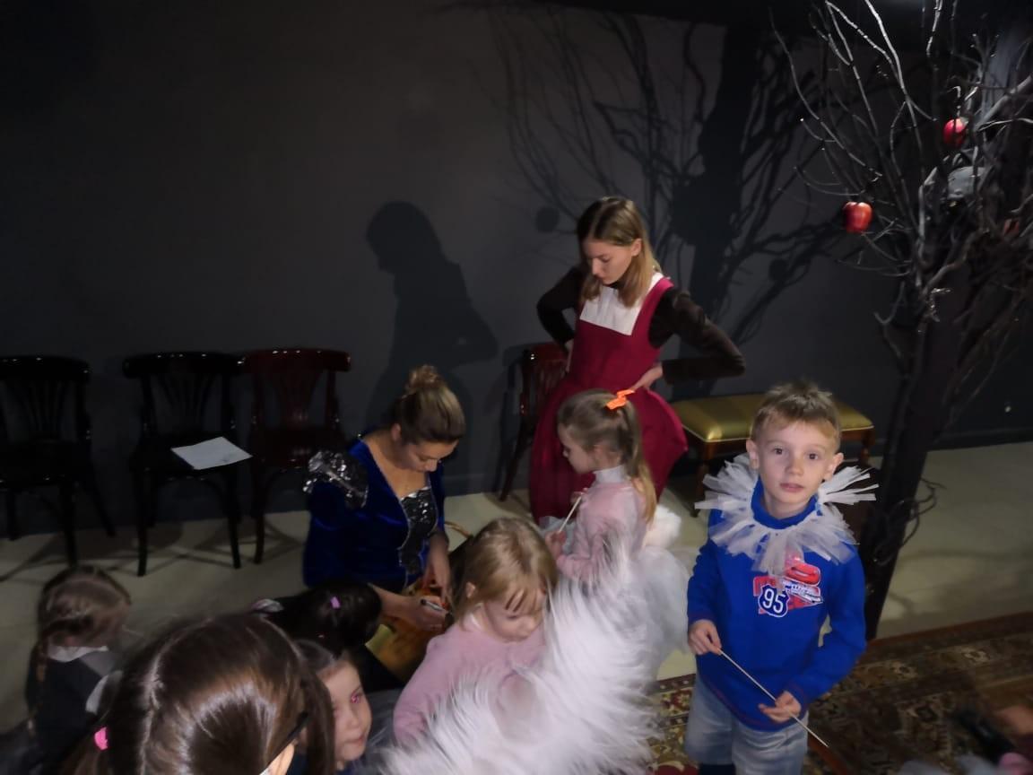 Детский квест в театре