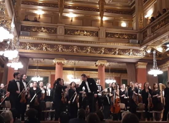 Валерий Воронин успешно дебютировал  в Венской  филармонии