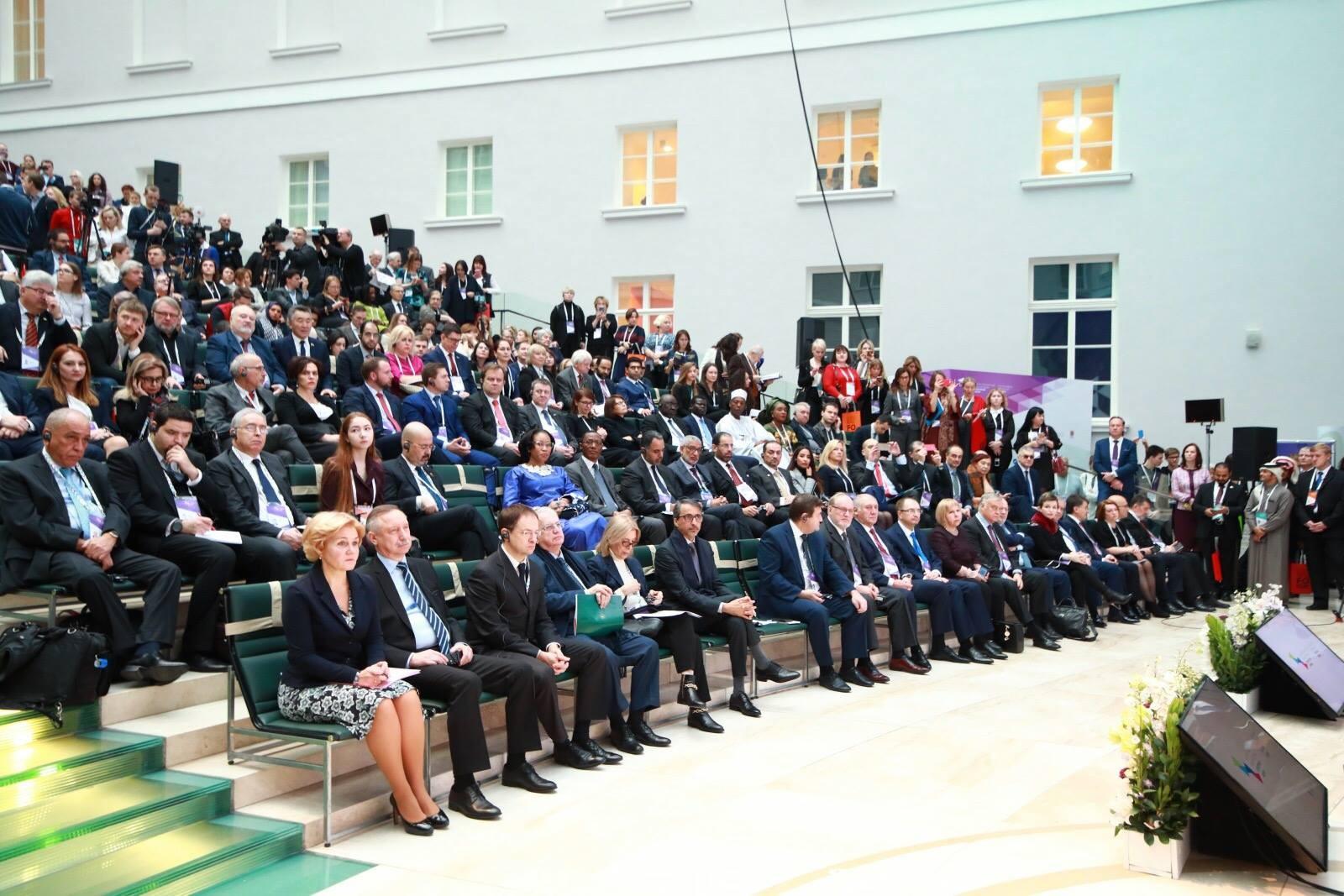 В Санкт - Петербурге стартовал Седьмой Международный культурный форум