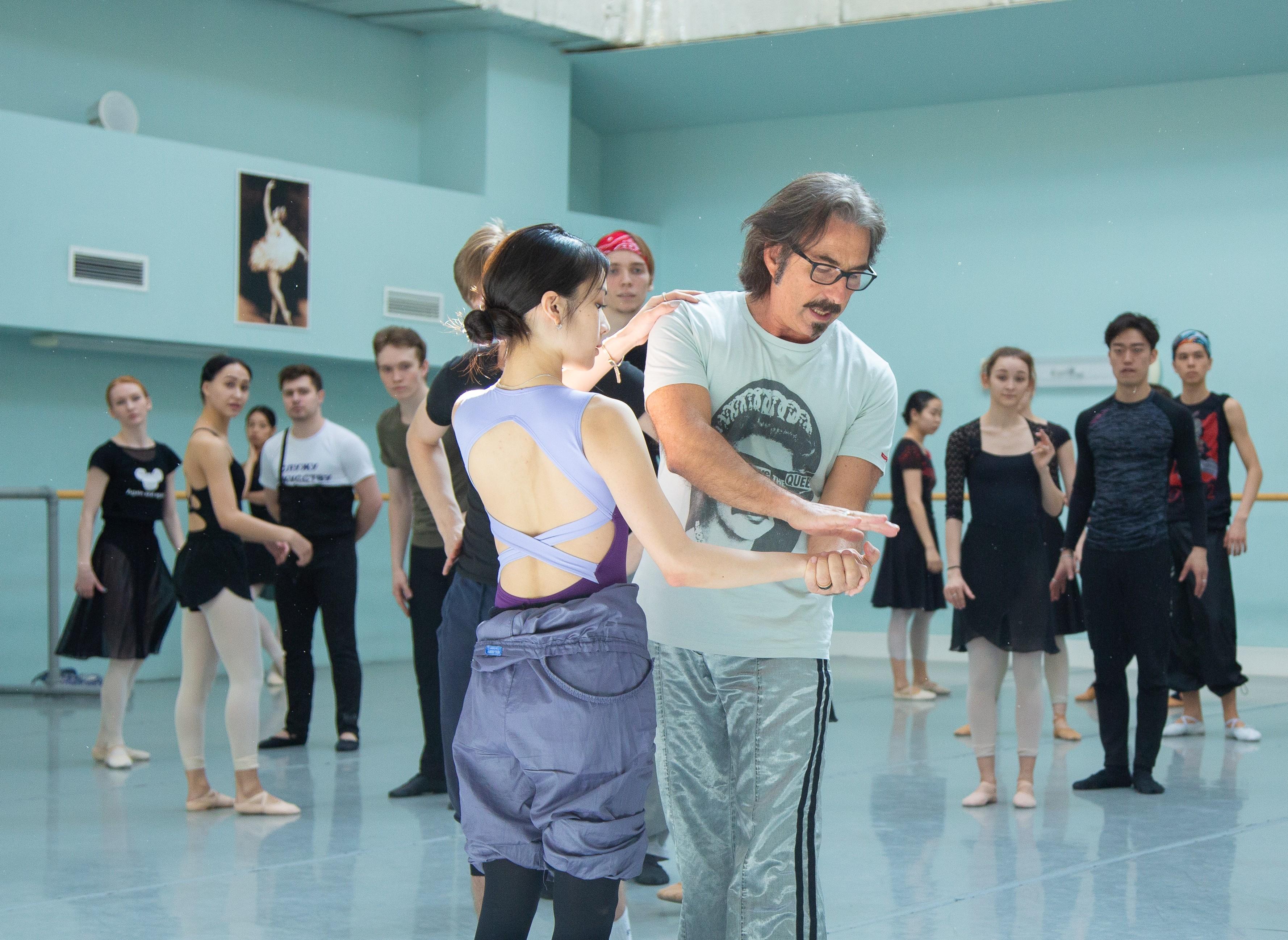 Известный итальянский хореограф  в Астрахани