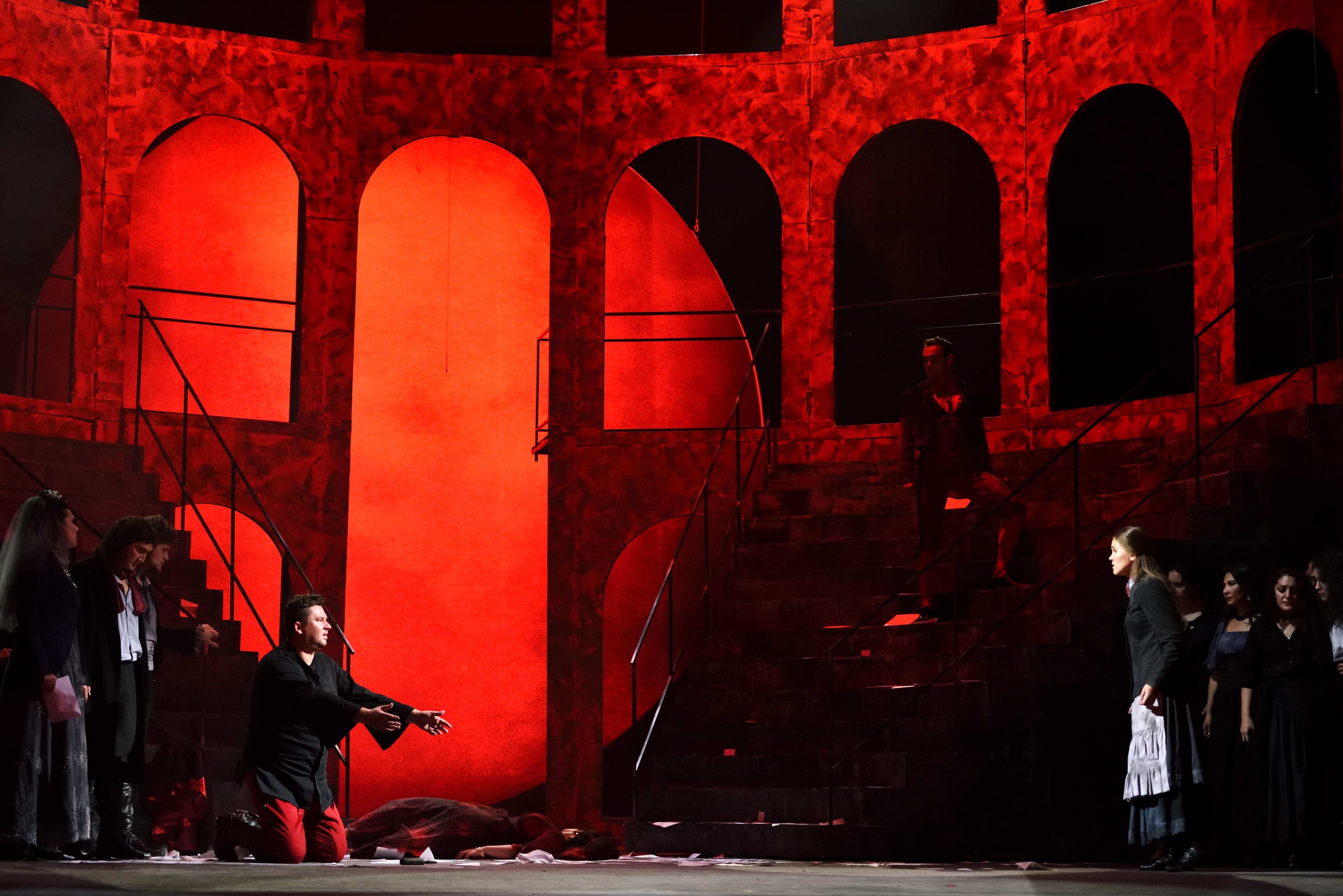 Премьера! 12 сентября на сцене Большого зала опера «Кармен» Ж. Бизе