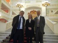 Делегация королевства Норвегии во главе с чрезвычайным и полномочным послом Норвегии в Москве Лейдульвом Намтведтом посетила наш театр