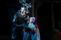 """Сегодня на Большой сцене Астраханского государственного театра Оперы и Балета в рамках Детского музыкального абонемента пройдёт сказка """"Снежная королева""""!"""