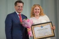 В Астраханском театре Оперы и Балета глава региона поздравил работников культуры и театра с профессиональным праздником