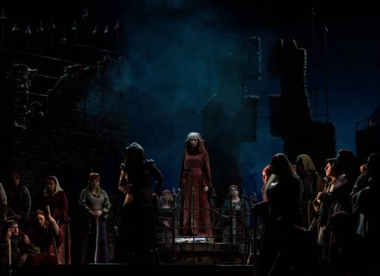 Премьера! 1 декабря на сцене Большого зала  опера «Трубадур» Дж. Верди