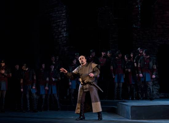 17 марта на сцене Большого зала  опера «Трубадур» Дж. Верди