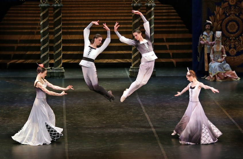 Первый балетный спектакль в 22-ом театральном сезоне