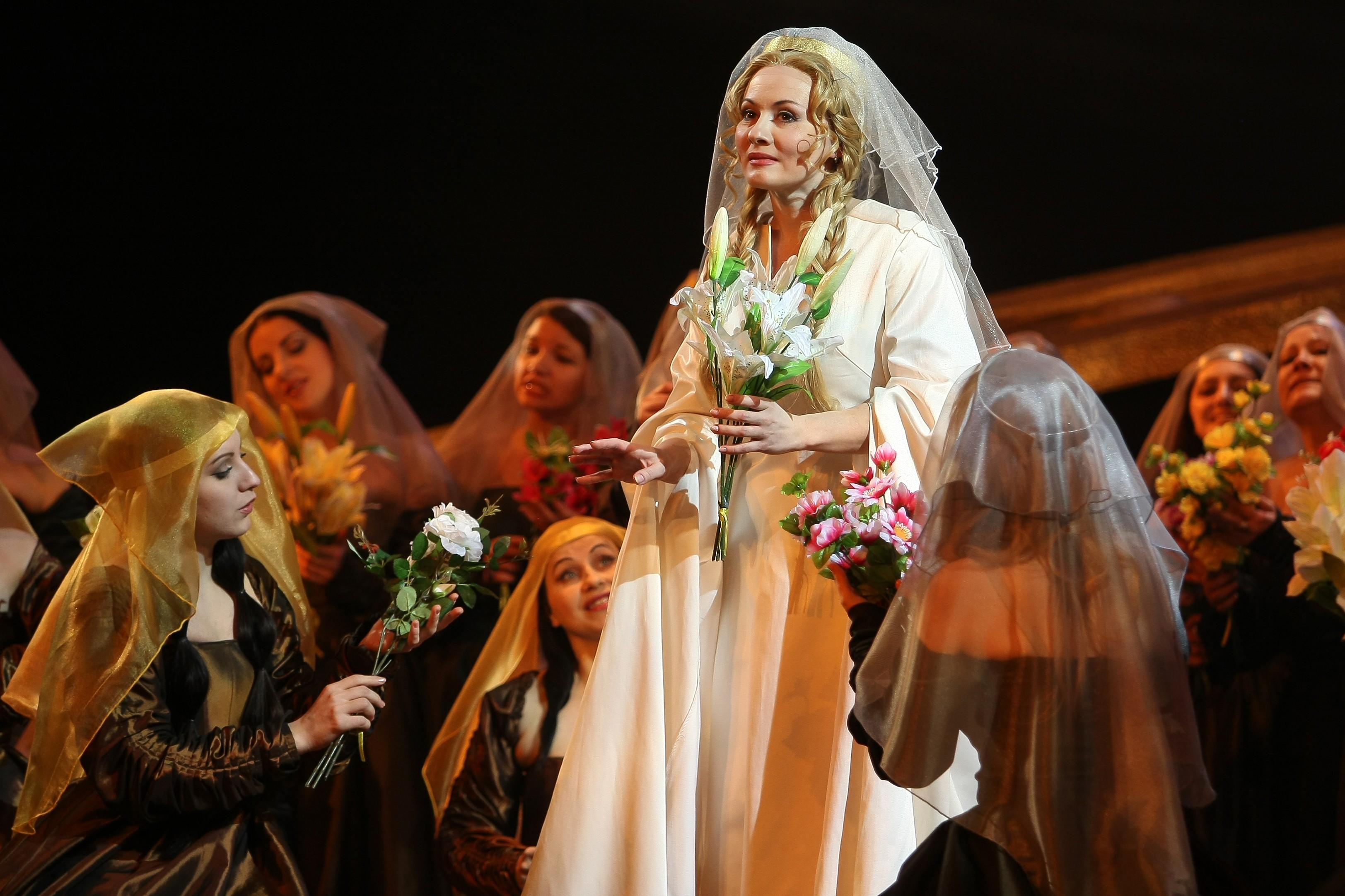 Трогательная история любви на сцене Большого зала