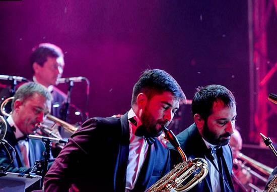 """Международный фестиваль """"Дельта-джаз"""". Биг-бенд Георгия Гараняна"""