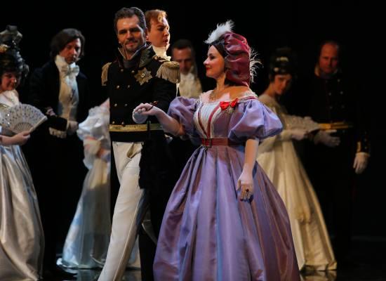 В Татьянин день в театре Оперы и Балета дают оперу «Евгений Онегин»