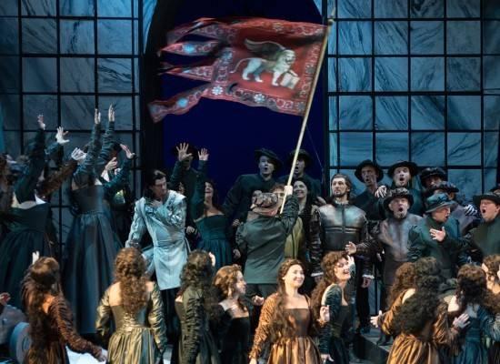 Итальянские оперные «звёзды» в спектакле «Отелло»