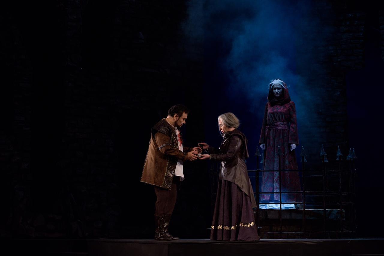 Премьера! 23 ноября на сцене Большого зала  опера «Трубадур» Дж. Верди