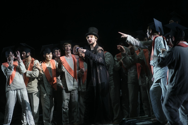 Драматическая легенда  «Осуждение Фауста» Гектора  Берлиоза приглашает