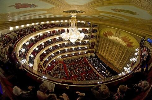 Репетиция на Новой сцене Большого театра